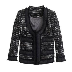 NWOT J. Crew collection tweed blazer